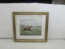 Antique Hand Coloured Henry Alken Engraving, Hunting Recollections Series Pla.5