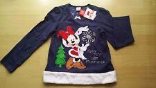 NUOVO Disney Minnie Mouse Ragazza Natale Pigiama NIGHTWEAR 7-8 anni