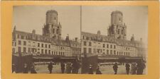 Boulogne-sur-Mer Beffroi Photo Stereo Vintage Albumine ca 1880