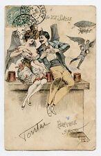 Georges MOUTON . AU XXe Siècle . FLIRTAGE . EROTIQUE . EROTIC .FLIRT