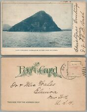 GIBRALTAR OF THE ISLE OF PINES CAPE COLUMBO NEW CALEDONIA ANTIQUE POSTCARD