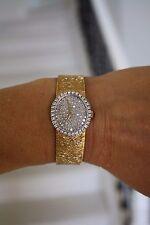 Beautiful BAUME & MERCIER 18 k  watch 1.03 cts VS-1 Diamonds, GLA appraisal