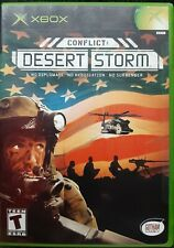 XBOX: Conflict Desert Storm Complete with Case & Manual, Tested, Free S&H.