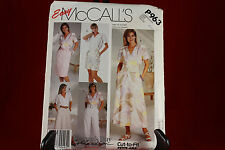 Vintage McCall's P963 Women's Skirts,Pants, or Shorts Pattern Size C (10,12,14)