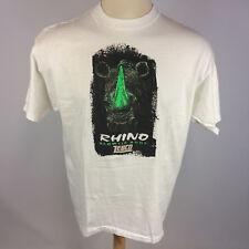 Vintage 90s Glow in the Dark Zebco Rhino Fishing Glow Tip Rods Reels T Shirt