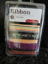 Cosmo Cricket Ribbon - 5 yard HAUNTED.