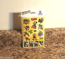 Teenage Mutant Ninja Turtles Sticker Set 51 Stickers NEW