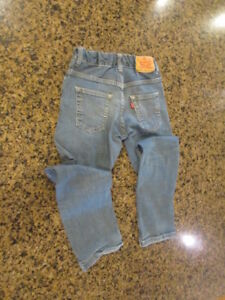 Levi's 511 slim boy blue denim jeans 10 reg W 25 L 25 adjustable waist