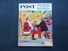 1958 DEC 6 THE SATURDAY EVENING POST MAGAZINE - ROBERT PRESTON STORY - SP 2208