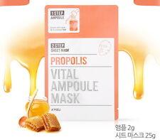 A'pieu Vital Ampoule Mask Sheet # Propolis Elastic Vitalizing Clearance SALE