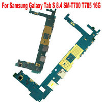 Unlocked Motherboard Main Board for Samsung Galaxy Tab S 8.4 SM-T700 T705 16G