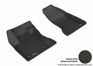 All Weather Floor Mat For JEEP RENEGADE 2015-2020 KAGU BLACK R1