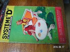 1µ? Revue Systeme D n°134 Catamaran à pedale Mobilier Jardin