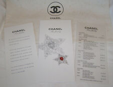 """CHANEL """"FINE JEWELRY-COMET AND STARS COLLECTION""""- FINE JEWELRY BOUTIQUE BROCHURE"""