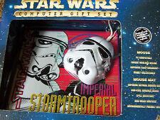 Star Wars Computermaus Stormtrooper, Cloone Krieger  mit Maus Pad