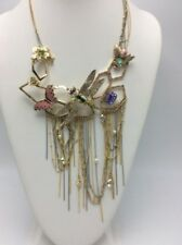 Betsey Johnson Buzz off Insect Bib Necklace K10