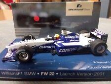 1:43 Williams BMW FW22 Schumacher test 2001 1/43 • BMW 80420029770