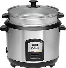 Bomann 2282 2in1 arroz Cocedor vapor Cocinador Gar aparato 2 5 kg