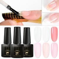 MTSSII 6ml Builder Varnish Nail Polish For Nail UV Gel Extension Poly Manicure