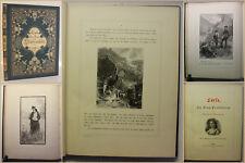 Auerbach Lorle Die Frau Professorin 1885 Belletristik Klassiker Prachtausgabe xy