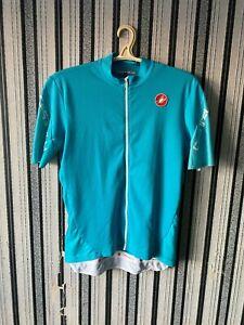 CASTELLI Cycling Jersey full zip Blue  size 2XL