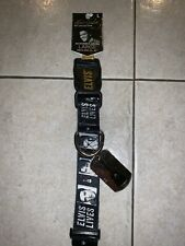 """Elvis Presley Dog Collar L The King Pet Collection Adjustable 15-22"""" ID Tag"""