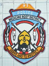 SOUTH DAKOTA, MEDICINE ROOT DISTRICT TRIBAL POLICE PATCH