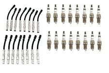 Mercedes W163 W208 W210 Bosch (16) Spark PlugS and OPPARTS Ignition Wire Set KIT