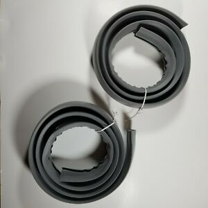 Belkin Cord Concealer - On-Floor Cable Cover - 2x 6 Feet Grey - Trip-Free Safety
