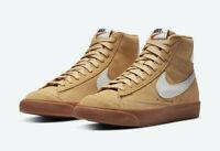 Nike Wmns Blazer Mid 77 Twine Summit White Wheat Gum DB5461-700 Size 6-10
