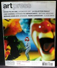 Art press 323 : Cindy Sherman Matthias Weischer Almodovar Claude Simon NM
