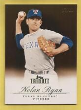 NOLAN RYAN 2012 Topps Tribute Black #71 Rangers #d 17/60