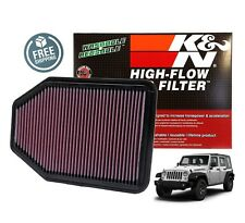 K&N Replacement Air Filter 07-17 Jeep Wrangler JK 3.6L / 3.8L V6 33-2364