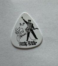 Cheap Trick - Rick Nielsen Signature Tour Issued Guitar Pick White & Black R's