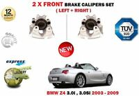 FOR BMW E85 Z4 3.0i 3.0SI 2003-2009 NEW 2X FRONT LEFT + RIGHT BRAKE CALIPER UNIT