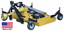 """FINISH CUT MOWER Commercial - 3 Point Hitch Mounted - PTO Driven - 72"""" Cut"""