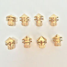 Set Of 8 Brass Speaker Spike Stand Foot Speaker Cone Isolation Spikes 22mm High