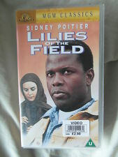 Lilies of the Field MGM Classic VHS Sidney Poitier 95mins running time 1963