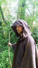 Hooded Untilitly Cloak In Brown