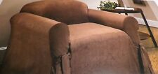 MIRO-SUEDE CHAIR SLIPCOVER FITS CHAIR 6' 1/2- 8' LOVE SEAT 5'-6' 1/2 MADISON NEW