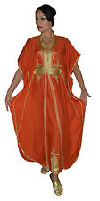 Moroccan Kaftans Women Caftans Dress Evening Party Short Sleeve Abaya Wedding