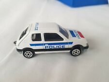Majorette 1/53 Peugeot 205 GTI Police Polizeiwagen No.281 France Modellauto TOP