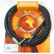 Whirlwind Leader Guitar Cable/lead 25ft Black