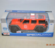 2018 Maisto Special Edtion 1:18 eXclusive Style Jeep Rescue Concept Tactical