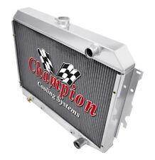 3 Row Performance Champion Radiator for 1968 - 1973 Dodge Charger Hemi Engine
