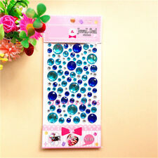 Self Adhesive Glitters Round Crystal Gems Jewels Diamond StickerRhinestone Strip