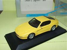 FERRARI 456 GT Jaune MINICHAMPS