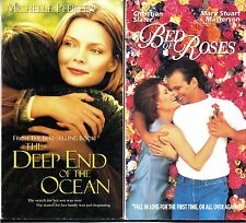 The Deep End of the Ocean & Bed Of Roses - 2 VHS Tapes