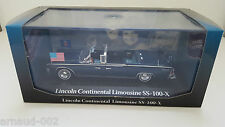 Atlas - Lincoln Continental Limousine SS-100-X JFK (1/43)