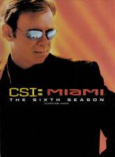 CSI: MIAMI - THE SIXTH SEASON (6TH) (BOXSET) (BILINGUAL) (DVD)